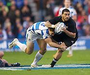 Scotland versus New Zealand, 11.11.12
