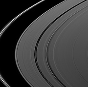 Shadows seem ubiquitous in this Cassini spacecraft view of Saturn's rings captured shortly after the planet's August 2009 equinox.