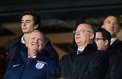 Greg Clarke, England Football Association Chairman ahead to the football match between National teams of Slovenia and England in Round #3 of FIFA World Cup Russia 2018 Qualifier Group F, on October 11, 2016 in SRC Stozice, Ljubljana, Slovenia. Photo by Vid Ponikvar / Sportida