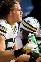 """Clay Matthews of the Green Bay Packers  for Gatorade """"In the Game"""" campaign."""