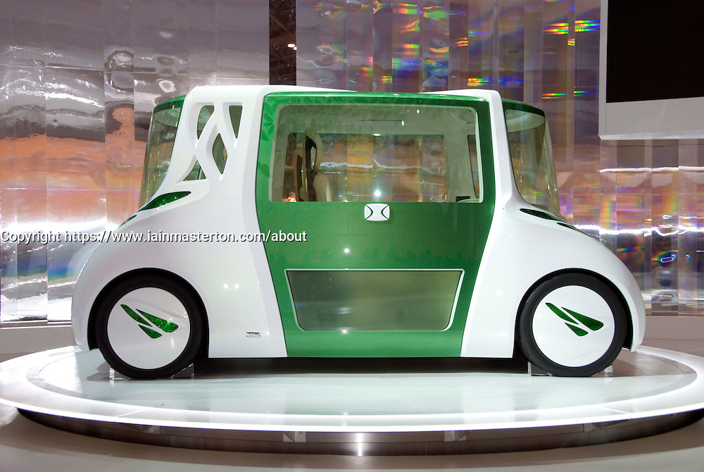 Toyota RiN concept prototype vehicle on show at Tokyo Motor Show 2007