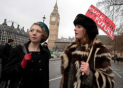 © Under license to London News Picures. Students take to the streets of Westminster, London today (30/11/2010) to protest against planned increases to tuition fees. Photo credit should read: Fuat Akyuz/London News Pictures