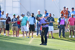 March 21, 2018 - Austin, TX, U.S. - AUSTIN, TX - MARCH 21: Shubhankar Sharm hits a shot from the fairway during the First Round of the WGC-Dell Technologies Match Play on March 21, 2018 at Austin Country Club in Austin, TX. (Photo by Daniel Dunn/Icon Sportswire) (Credit Image: © Daniel Dunn/Icon SMI via ZUMA Press)