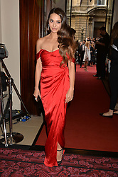 ZARA MARTIN at the GQ Men Of The Year 2014 Awards in association with Hugo Boss held at The Royal Opera House, London on 2nd September 2014.