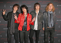 © Licensed to London News Pictures. 03/09/2014, UK. The Struts, John Varvatos - Flagship European London store launch party, Conduit Street, London UK, 03 September 2014. Photo credit : Richard Goldschmidt/Piqtured/LNP