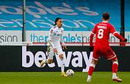 Leeds United forward Helder Costa (17)  during the The FA Cup match between Crawley Town and Leeds United at The People's Pension Stadium, Crawley, England on 10 January 2021.
