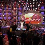NLD/Hilversum/20080301 - Finale Idols 2008, optreden winnares Nikki
