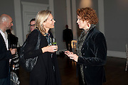 ANN MACGREGOR, MCA Sydney cocktails. Brandon rooms. ICA. London. 11 October 2011. <br /> <br />  , -DO NOT ARCHIVE-© Copyright Photograph by Dafydd Jones. 248 Clapham Rd. London SW9 0PZ. Tel 0207 820 0771. www.dafjones.com.