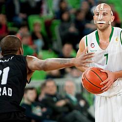 20140309: SLO, Basketball - ABA League, KK Union Olimpija vs KK Partizan NIS