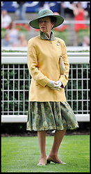 Princess Anne Presents the King George VI Trophy at <br /> Ascot Racecourse, Ascot, United Kingdom<br /> Saturday, 27th July 2013<br /> Picture by Andrew Parsons / i-Images