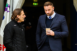 Chesterfield caretaker manager Ian Evatt with Wycombe Wanderers manager Gareth Ainsworth - Mandatory by-line: Robbie Stephenson/JMP - 28/04/2018 - FOOTBALL - Proact Stadium - Chesterfield, England - Chesterfield v Wycombe Wanderers - Sky Bet League Two