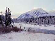 Kathleen River, Kluane National Park, Yukon Territory, Canada