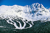 Blackcomb Mountain, Whistler Blackcomb ski resort, British Columbia, Canada