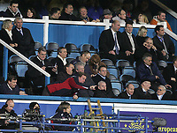 Photo: Lee Earle.<br /> Portsmouth v Manchester City. The Barclays Premiership. 10/02/2007.Portsmouth manager Harry redknapp watches the game from the stands.
