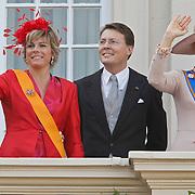 NLD/Den Haag/20100921 - Prinsjesdag 2010, Prinses Laurentien, Prins Constatijn en Prinses Maxima
