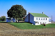 Amish one room school house, Ephrata, Lancaster County, Pennsylvania, USA