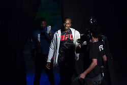 October 27, 2017 - Sao Paulo, Sao Paulo, Brazil - UFC fighter DEREK BRUNSON of the United States during the weigh-in event prior to the UFC Fight Night Sao Paulo, at the Ibirapuera Gymnasium in Sao Paulo Brazil. (Credit Image: © Paulo Lopes via ZUMA Wire)