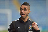 Northampton Town Midfielder, Lewis McGugan (37) arrives at Fratton park during the EFL Sky Bet League 1 match between Portsmouth and Northampton Town at Fratton Park, Portsmouth, England on 30 December 2017. Photo by Adam Rivers.