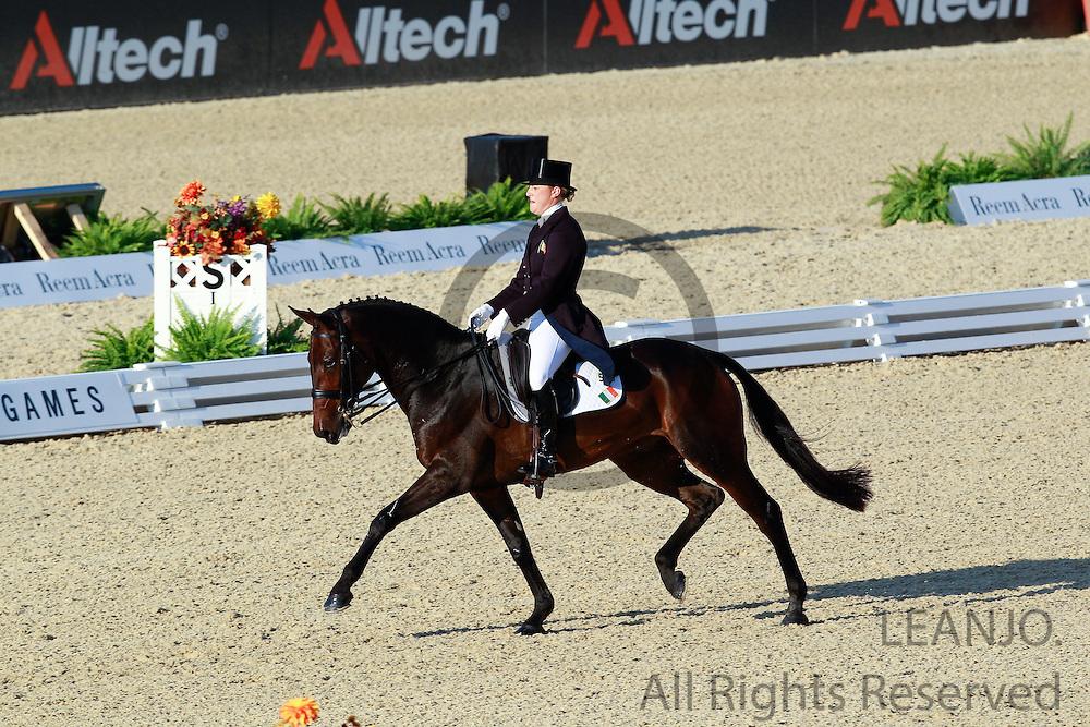 Camilla Speirs - Portersize Just a Jiff<br /> Alltech FEI World Equestrian Games <br /> Lexington - Kentucky 2010<br /> © DigiShots