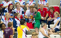 Prince Harry at the Paralympics 4-9-12