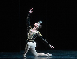 La Bayadere <br /> A ballet in three acts <br /> Choreography by Natalia Makarova <br /> After Marius Petipa <br /> The Royal Ballet <br /> At The Royal Opera House, Covent Garden, London, Great Britain <br /> General Rehearsal <br /> 30th October 2018 <br /> <br /> STRICT EMBARGO ON PICTURES UNTIL 2230HRS ON THURSDAY 1ST NOVEMBER 2018 <br /> <br /> <br /> <br /> Vadim Muntagirov as Solor <br /> A warrior <br /> <br /> <br /> <br /> Photograph by Elliott Franks Royal Ballet's Live Cinema Season - La Bayadere is being screened in cinemas around the world on Tuesday 13th November 2018 <br /> --------------------------------------------------------------------