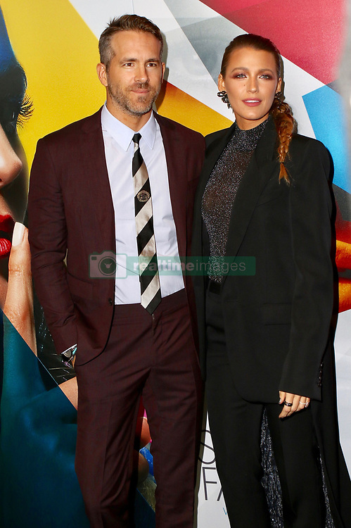 September 11, 2018 - New York City, New York, USA - Photo by: Nancy Rivera/starmaxinc.com.STAR MAX.Copyright 2018.ALL RIGHTS RESERVED.Telephone/Fax: (212) 995-1196.9/10/18.Blake Lively and Ryan Reynolds at the world premiere of ''A Simple Favor'' held at The Museum of Modern Art in New York City..(NYC) (Credit Image: © Starmax/Newscom via ZUMA Press)