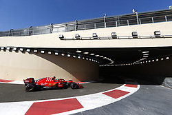 November 23, 2018 - Abu Dhabi, United Arab Emirates - Motorsports: FIA Formula One World Championship 2018, Grand Prix of Abu Dhabi, World Championship;2018;Grand Prix;Abu Dhabi,  , #5 Sebastian Vettel (GER, Scuderia Ferrari) , #5 Sebastian Vettel (GER, Scuderia Ferrari) (Credit Image: © Hoch Zwei via ZUMA Wire)