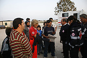 Carlo Cizmic, Italian Roma Diplomats, living in a container camp called Castyel Romano, near Rome, Italy..