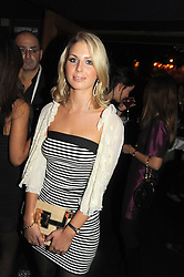 ISABELLE COATEN at the Tatler Magazine Little Black Book party at Tramp, 40 Jermyn Street, London SW1 on 5th November 2008.