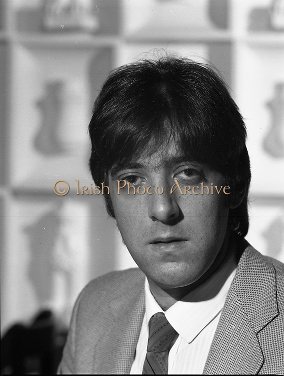 David son of Mr. Mike Butt who is the owner of Golden Orient Restaurant, 27th Leeson Street, Dublin,<br /> 14th May 1984