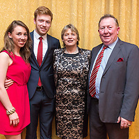 Maeve Harrison, Sean Jnr, Geraldine and Sean McMahon from Miltown Malbay at the Clare Limousin Breeders 18th Annual Dinner Dance