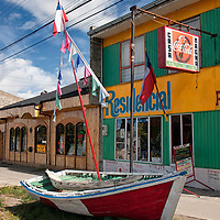 After we had visited the Torres del Paine National Park we stayed in Puerto Natales for one night.