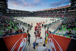 Team DEN - Opening Ceremony - Alltech FEI World Equestrian Games™ 2014 - Normandy, France.<br /> © Hippo Foto Team - Jon Stroud<br /> 24/06/14