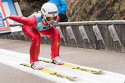 February 8, 2019 - Ingebjoerg Saglien Braaten of Norway on first competition day of the FIS Ski Jumping World Cup Ladies Ljubno on February 8, 2019 in Ljubno, Slovenia. (Credit Image: © Rok Rakun/Pacific Press via ZUMA Wire)