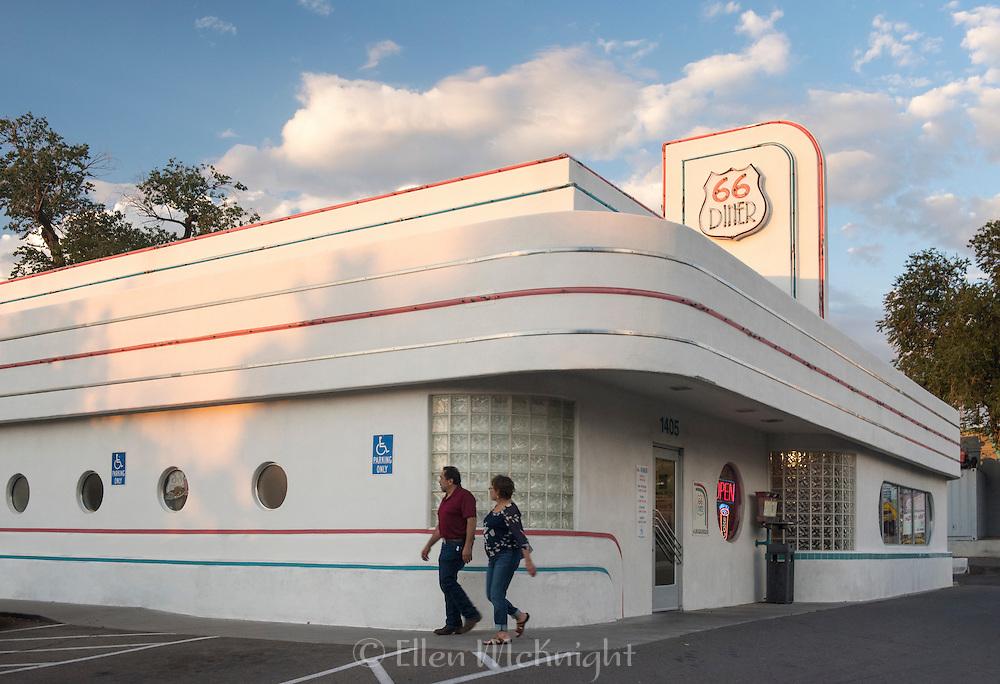 Route 66 Landmark Diner in Albuquerque, New Mexico