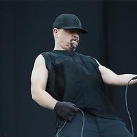 Nederland, Landgraaf, 12 juni 2015<br /> Het optreden van Ice-T en Body Count tijdens het Pinkpop festival<br /> <br /> Foto: Jean-Pierre Jans
