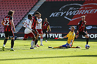 Football - 2020 / 2021 Sky Bet Championship - AFC Bournemouth vs. Middlesbrough - The Vitality Stadium<br /> <br /> Bournemouth's Dominic Solanke slots the ball past Marcus Bettinelli of Middlesbrough to score the cherries third at the Vitality Stadium (Dean Court) Bournemouth  <br /> <br /> COLORSPORT/SHAUN BOGGUST