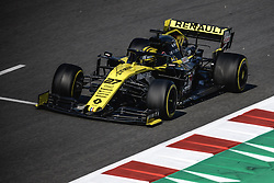 March 1, 2019 - Barcelona, Catalonia, Spain - NICO HULKENBERG (GER) from team Renault drives in his RS19 during day eight of the Formula One winter testing at Circuit de Catalunya (Credit Image: © Matthias OesterleZUMA Wire)