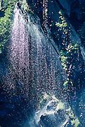 Alaska. Chugach Mts. Keystone Canyon. Waterfall near Valdez.