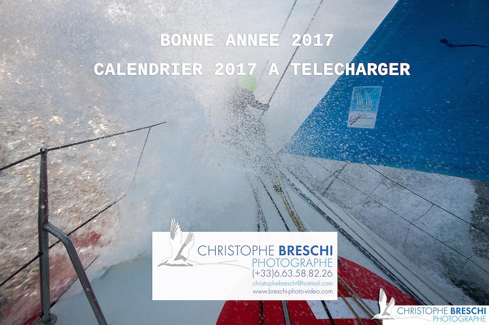 Banque Image de l' IMOCA de Alan ROURA en vue du Vendée Globe 2016