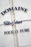 Domaine Pascal Jolivet, Sancerre, Loire, France