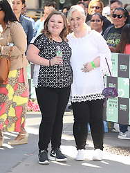 Honey Boo Boo and Mama June depart Build Series in New York. 11 Jun 2018 Pictured: Honey Boo Boo, Alana Thompson and Mama June Shannon. Photo credit: MEGA TheMegaAgency.com +1 888 505 6342