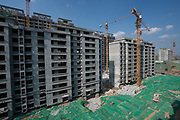 """Following Xi Jinping's lead that """"China should continue to become stronger, better and larger"""" Rizhao construction company fulfilling large building contracts for the growing city of Rizhao in Shandong province, China"""