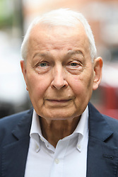 © Licensed to London News Pictures. 20/09/2018. London, UK.  Former Labour MP FRANCK FIELD is seen in Westminster on September 20th, 2018. Photo credit: Ben Cawthra/LNP