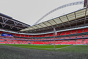 Wembley Stadium during the The FA Cup match between Crystal Palace and Watford at Wembley Stadium, London, England on 24 April 2016. Photo by Shane Healey.