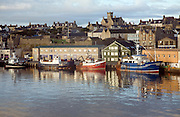 Harbour and town, Lerwick, Shetland Islands, Scotland