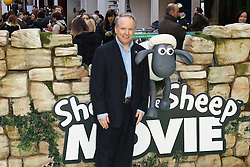 © Licensed to London News Pictures. 25/01/2015, UK. Nick Park, Shaun the Sheep Movie - European Film Premiere, Leicester Square, London UK, 25 January 2015. Photo credit : Richard Goldschmidt/Piqtured/LNP