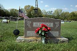 23 September 2017:   Mackinaw Township Cemetery located along the northern edge of Mackinaw Illinois<br /> <br /> John Howard (12-8-1894  7-10-1980) and Barbara Elizabeth (Cook) Aldridge (9-11-1904  8-16-1980)