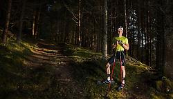 28.09.2013, Bad Hofgastein, AUT, Bernhard Gruber im Portrait, im Bild der österreichische Nordische Kombinierer Bernhard Gruber beim Training // the Austrian Nordic Combined Athlete Bernhard Gruber during a Photo Shoot. ***** EXKLUSIVES BILDMATERIAL ******. EXPA Pictures © 2013, PhotoCredit: EXPA/ Juergen Feichter