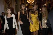 LADY TATIANA MOUNTBATTEN. , Crillon Debutante Ball 2007, DRINKS DAY BEFORE.  BACCARAT. Paris. -DO NOT ARCHIVE-© Copyright Photograph by Dafydd Jones. 248 Clapham Rd. London SW9 0PZ. Tel 0207 820 0771. www.dafjones.com.